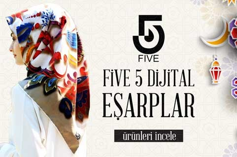 five eşarp