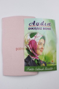 DİKİŞSİZ BONE - PUDRA