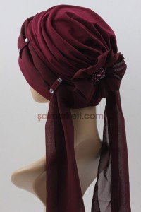 KEMERLİ BONE BORDO 10455