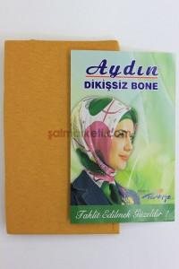 DİKİŞSİZ BONE - ALTIN SARISI RENK