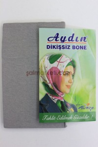 DİKİŞSİZ BONE - GRİ RENK