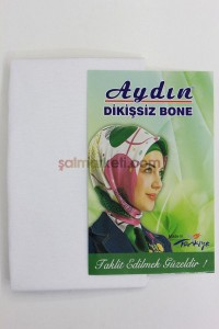 DİKİŞSİZ BONE - BEYAZ RENK