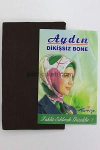 DİKİŞSİZ BONE - KAHVE
