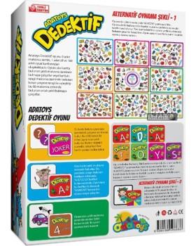 Ada Toys Dedektif Kutu Oyunu Zenginleştirilmiş Yeni Versiyon