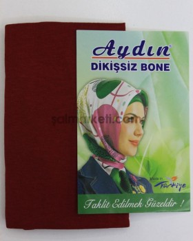 DİKİŞSİZ BONE - BORDO