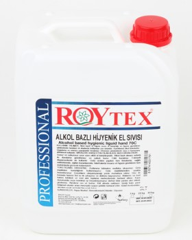 ROYTEX ALKOL BAZLI HİJYENİK EL YIKAMA DEZENFEKTANI 5 kg.
